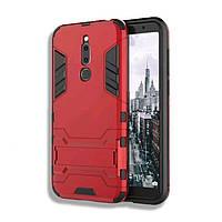 Гибридный чехол Iron Man для Meizu M6T цвет Красный