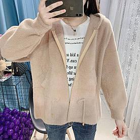 Молодежная курточка из трикотажа 44-46 (в расцветках)