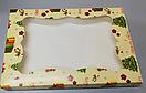 Картонная коробка для пряников праздничная 300*200*30 (принт подарок) К06, фото 2