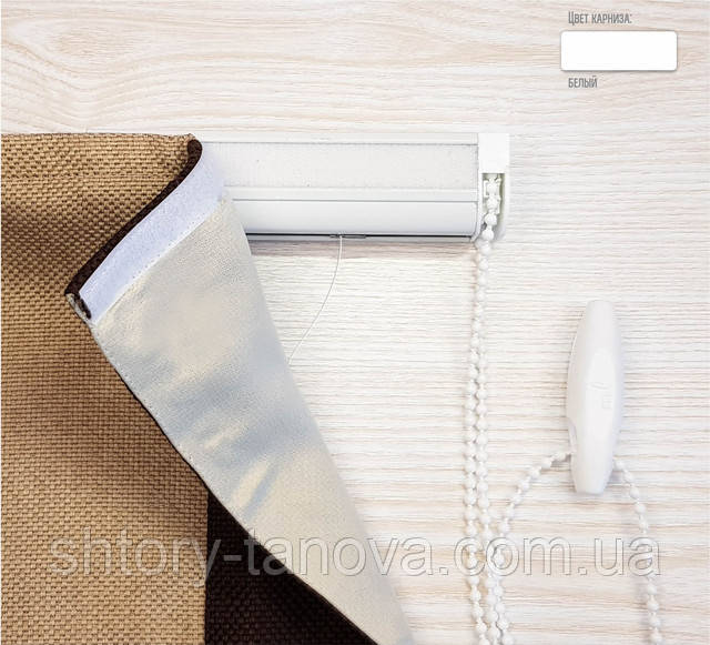 Римская шторы с цепочным механизмом