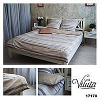 Комплект постельного белья Ранфорс 17170 neture - Двуспальный Евро