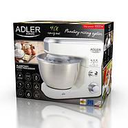 Планетарний кухонний тістоміс  міксер Adler AD 4216 1000W, фото 6