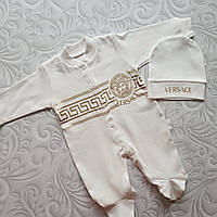 Набор слип с шапочкой Versace, фото 1