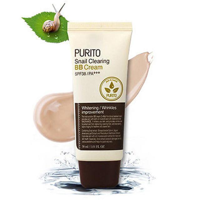 Purito Равликовий BB Крем Snail Clearing BB Cream SPF38 30ml #21 Light Beige (Original)