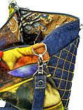 Джинсовая сумочка Коты, фото 4