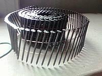 Рифлені цвяхи в бобінах CNW 2.5/75 мм. (кільцеві)