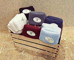 Шерстяные женские носки Kardesler с отворотом