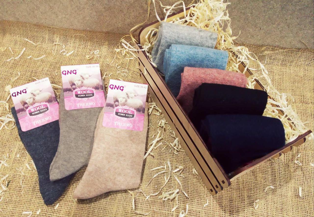 Ангора женские тонкие шерстяные носки