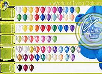 """Повітряні кульки латексні 12"""" пастель"""