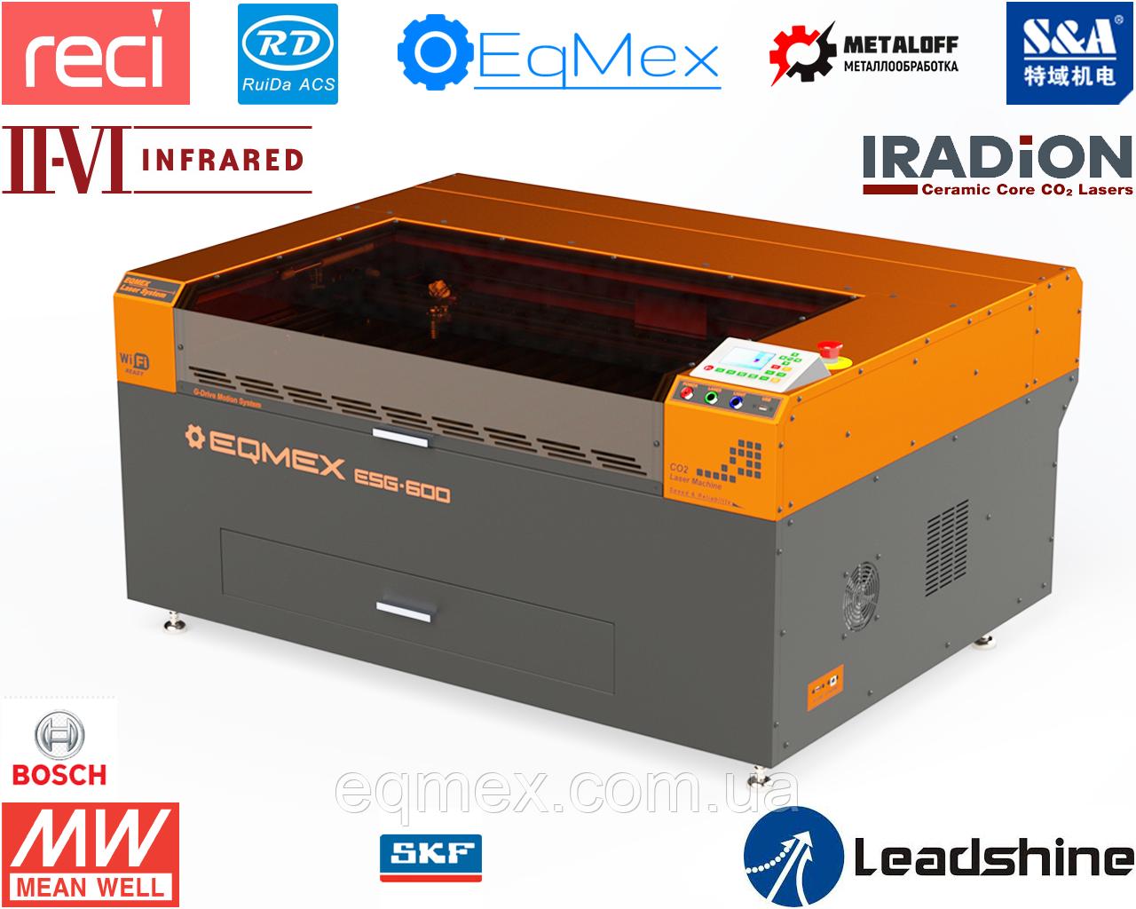 Cтанок для Лазерной Резки Фанеры Laser ESG-600 CO2 - 100Вт (6495$)