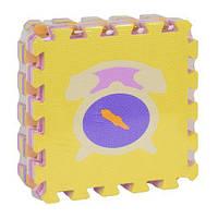 """Коврик-пазл EVA """"Микс"""" НК 014 (24) TK Group, массажный, 9шт в упаковке, 30х30 см [Пленка] - 69735976 HK014 scs"""