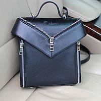 Жіночий стильний рюкзак від виробника, чорний ( код: IBG190B ), фото 1