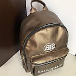 Стильный женский рюкзак  Balenciaga кожзам, фото 2