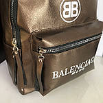 Стильный женский рюкзак  Balenciaga кожзам, фото 6