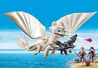 """Игровой набор Playmobil """"Как приручить дракона 3"""" Дневная фурия + (70038)"""