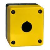 Корпус КПК для кнопок 1 место желтая аварийная Electro