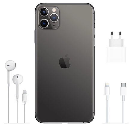Смартфон Apple iPhone 11 Pro 256Gb Space Gray (MWC72), фото 2