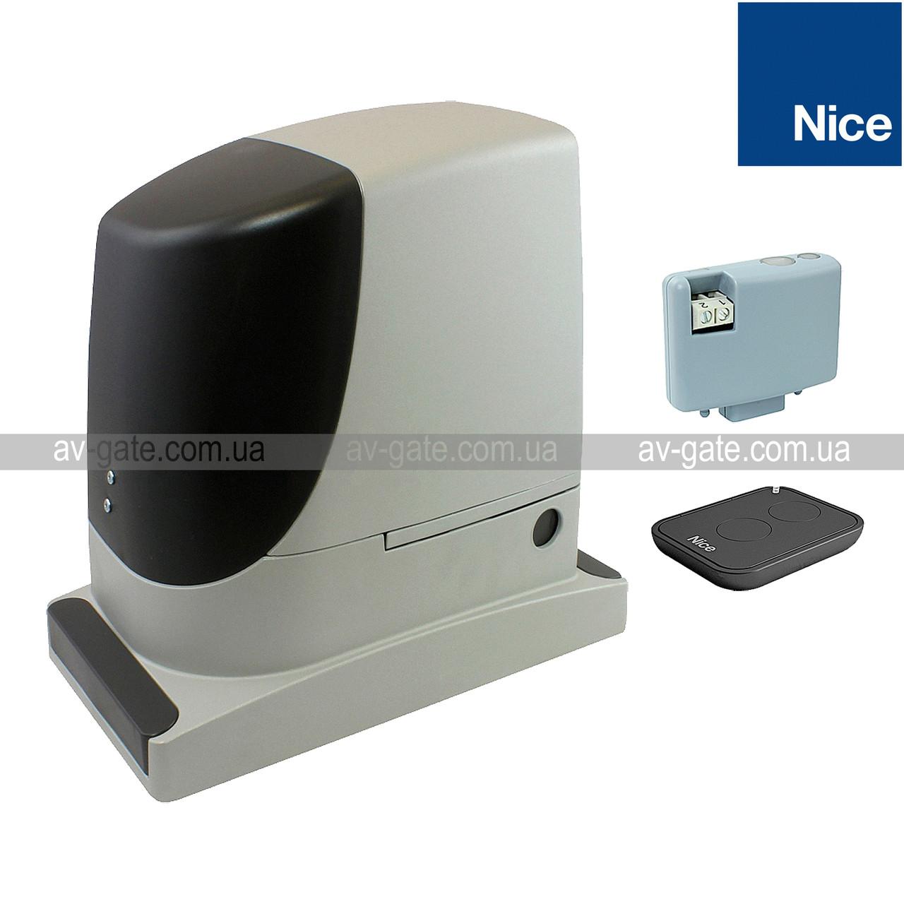 Комплект автоматики RUN2500KCE Nice для откатных ворот (ширина до 18 м)