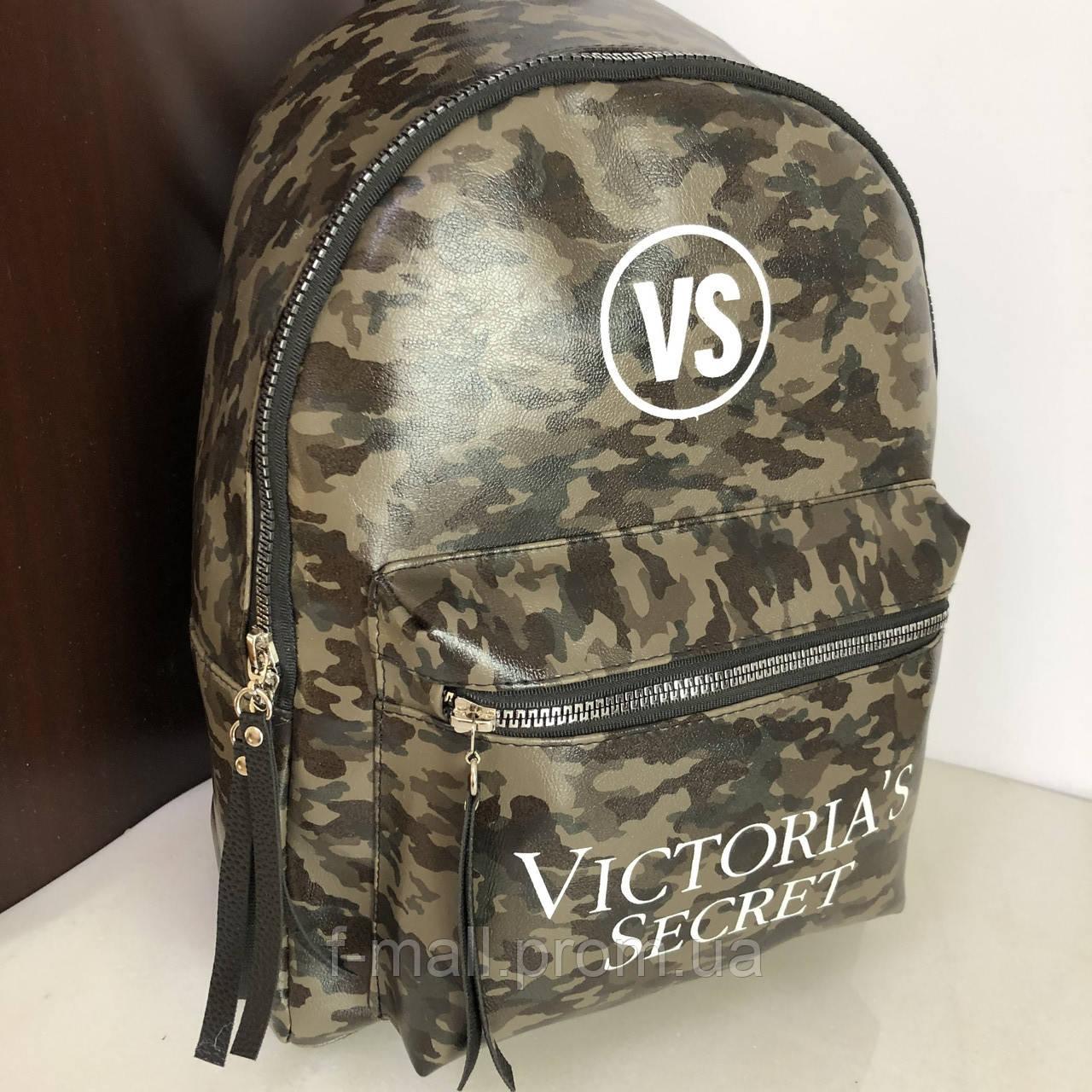 Стильный женский рюкзак  Victorias Secret кожзам