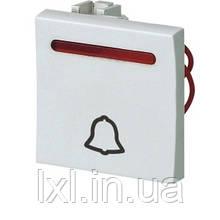 Модуль кнопки звонка с подсветкой. Размер 45*45 SIRIUS