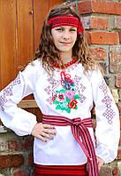 Вышиванка для девочек 122-128 см, фото 1