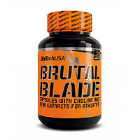 Жиросжигатель BioTech Brutal Blade (120 капс) биотек брутал блейд биотеч
