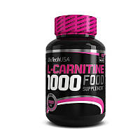 BioTech L-Carnitine 1000 mg (60 таб) биотек биотеч  л карнитин