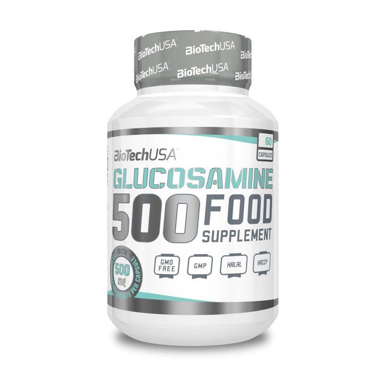 Глюкозамин BioTech Glucosamine 500 (60 капс) биотеч