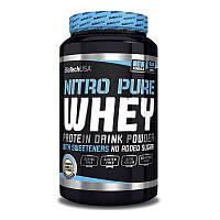 Сывороточный протеин концентрат BioTech Nitro Pure Whey (908 г) биотеч нитро пур вей hazelnut