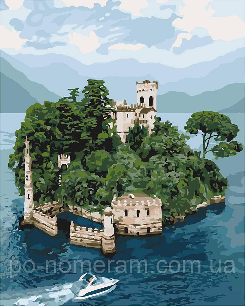 Раскраска по цифрам Идейка Таинственный остров (KHO3564 ...