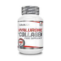 BioTech Hyaluronic & Collagen (30 капс) гиалуроновая кислота и коллаген биотек биотеч