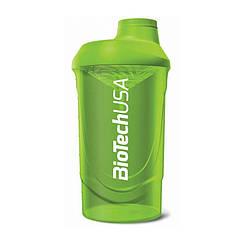 Шейкер спортивный Wave BioTech USA (600 мл) зеленый