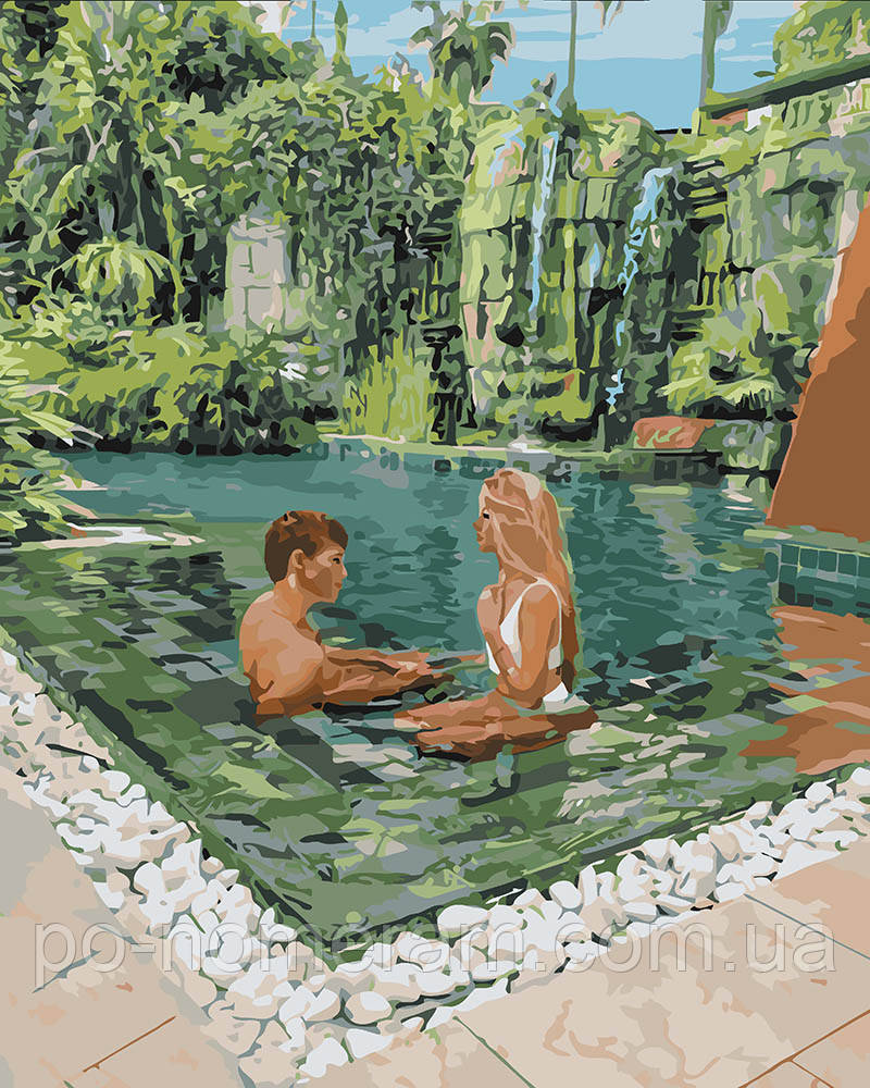 Картина по номерам Идейка Незабываемый отдых (KH4654) 40 х 50 см