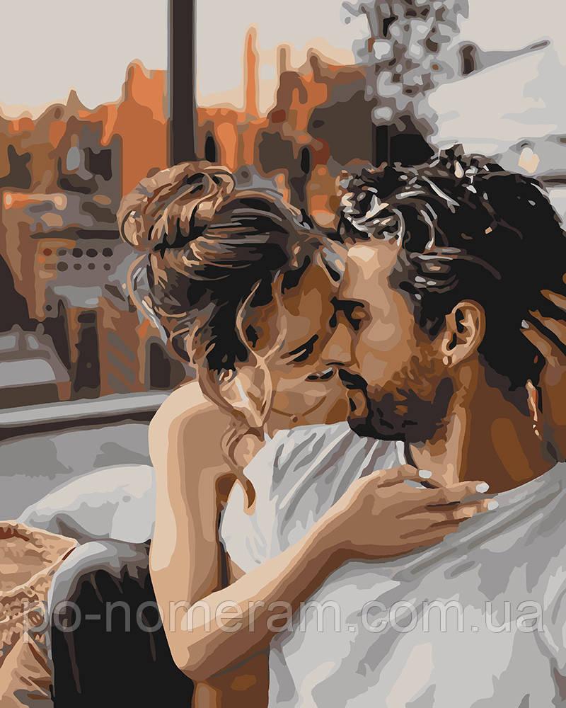 Картина по номерам Идейка Нежность чувств (KH4655) 40 х 50 см