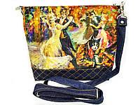 Джинсовая сумка  БАЛ, фото 1