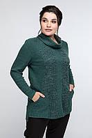 Женская туника из ангоры в 2х цветах АР Сильва 52-62 размеры, фото 1