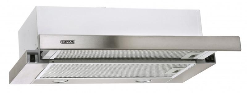 Кухонная вытяжка Eleyus Шторм LED 1200 / 60 (нержавейка)