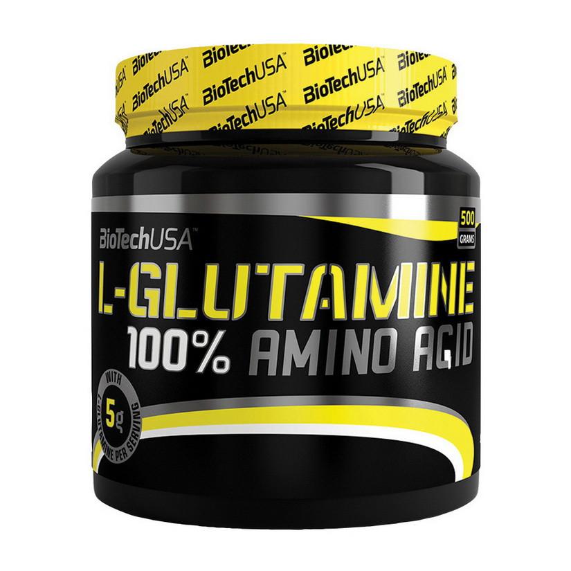 Глютамин BioTech 100% L-Glutamine (500 г) биотек биотеч