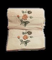 Махровое полотенце Цветок 150*90 см.TM Maribor, Турция