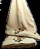 Махровое банное полотенце Цветок 150х90 см, 100% Хлопок, TM Maribor, Турция, фото 6