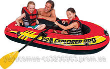 Детская надувная лодка Explorer 200 Pro Intex 58356
