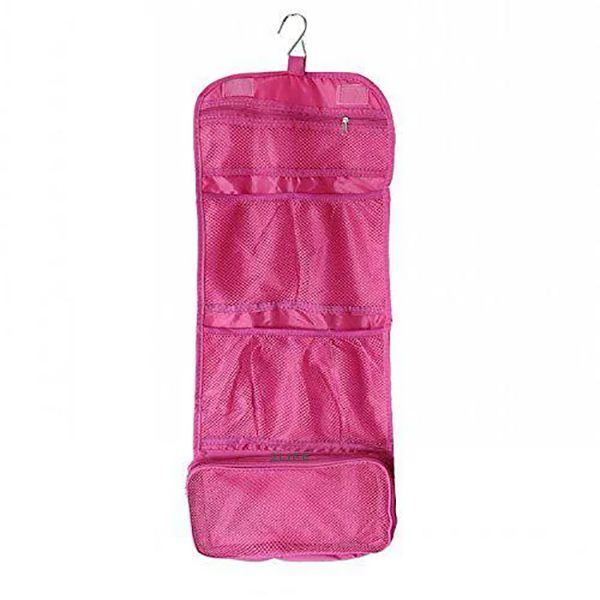 Косметичка органайзер дорожная 2Life подвесной 64,5х26 см Pink (n-214)