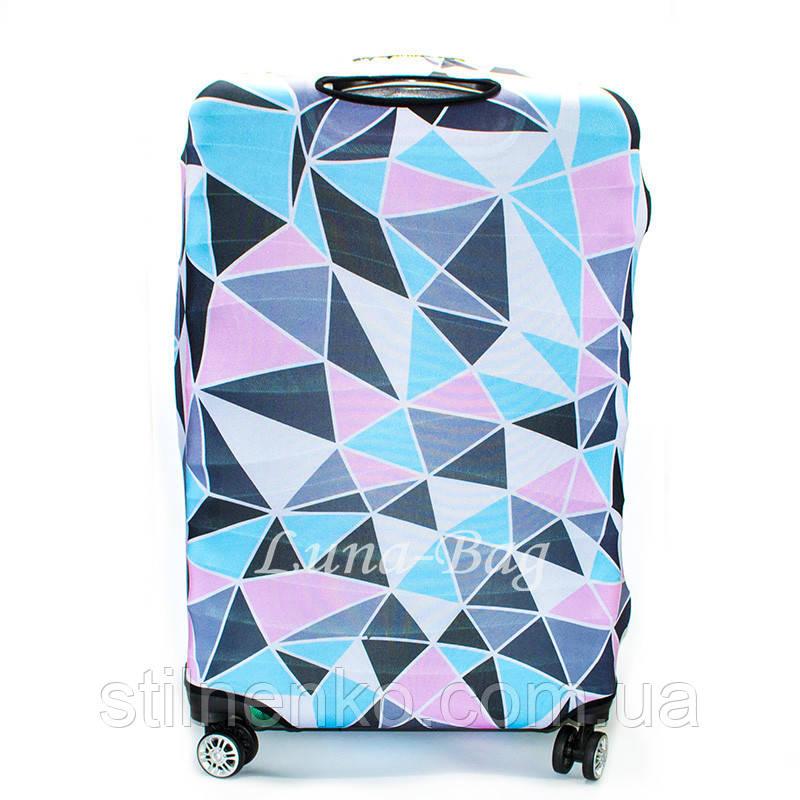 Чехол для чемодана много расцветок
