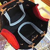 Сумка Луї Вітон хутро, шкіряні репліка, фото 3