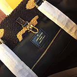 Сумка Луї Вітон хутро, шкіряні репліка, фото 4