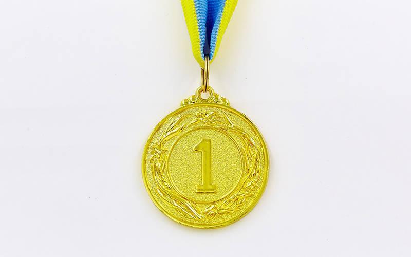 Медаль спортивная с лентой STAR d-4,5см C-2940