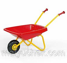 Красная садовая тачка Rolly Toys 270859