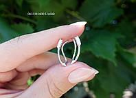 Серебряные серьги стрелы, фото 1