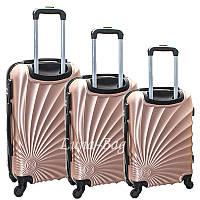Набор из трех чемоданов 5 цветов, фото 1