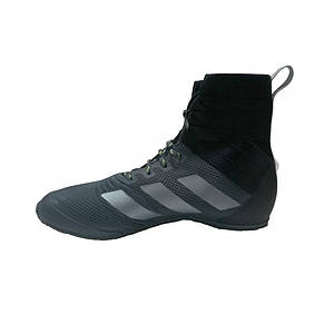 Боксерки Adidas SPEEDEX 18 Серые с белымиполосами